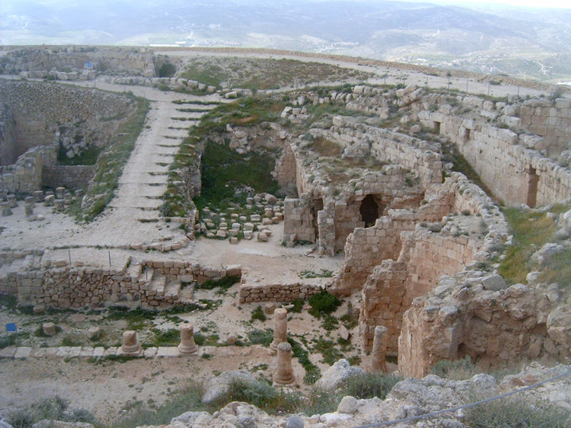 MagPro Photo of the Day: The ruins of 'The Herodium'  There were not any others visiting Herod's Mountain, or 'The Herodium', on the day that three friends from Germany and I visited. The view is spectacular from hear. You can see about Bethlehem, Jerusalem, even to the Jordan River and beyond from atop this partially manmade mountain. I wonder if Herod repented of his sins here. I hope he did somewhere.  For even more MagPro Photos, visit Photos.MagPro.org