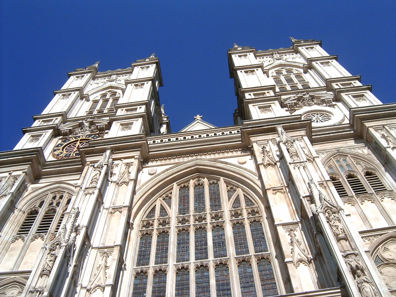 This 'MagPro Photo of the Day' shows the Westminster Abbey in London, England. This is where George Frideric Handel had his piece 'Messiah' performed. The King, while listening to the music, was so impressed, I've heard, that he stood up; and thus began the tradition of standing up during the 'Hallelujah Chorus' that is still practiced today around the world. Also a significant force behind the translation of the bBble to English, King James (King James Version), has a very small burial plaque here. There are so many enormous statues here that I suppose space was running low at the time of King James' burial; or perhaps he was very humble. Misop Baynun